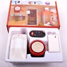 Wireless Home Security Alarm System PIR Sensor + Magnetic Door Sensor + Control