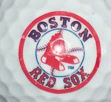 (1) Boston Red Sox Redsox Major League Baseball Mlb Logo Golf Ball