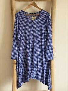 Gudrun Sjoden Myrten Lyocell Dress /Tunic Size M (14) MRP (79€)
