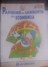 LIBRO PAPERINO NEL LABIRINTO DELL'ECONOMIA VOL 2 LA CRESCITA IL SOLE 24 ORE