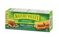 Nature Valley Oats 'N Honey Crunchy Granola Bars, 4-ct. Boxes US Seller
