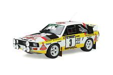 1/18 Otto Models OT820 Audi Sport Quattro #3 Walter Röhrl Rally Monte Carlo 1985