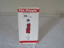 "VINTAGE"" THE PEOPLE"" SEWING PATTERN N0.266 DRESS TO FIT 38 BUST."