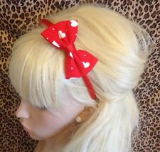 Femmes Filles Enfants satin blanc 2 cm de large cheveux bande Alice Bande Cheveux Accessoire
