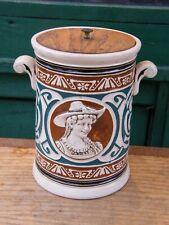 Pot à Tabac Art Nouveau en Grès Jugendstil
