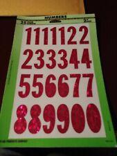 Hy-Ko 28 Numbers, Prism, 2-Inch, Self-Adhesive (Mm-42N)