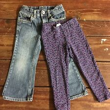 Lot Of 2 Toddler Jeans And Jeggings Size 3T.