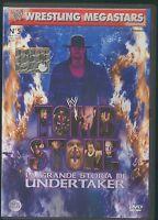 DVD WRESTLING WWE MEGASTARS UNDERTAKER GRANDI MATCH KANE,STEVE AUSTIN,HULK HOGAN