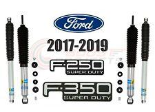 Bilstein B8 5100 Front Rear Monotube Shocks For 17-19 F-250 F-350 Superduty 4WD