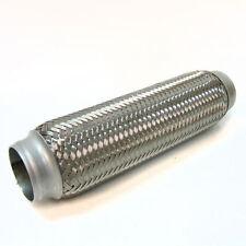 "Flexi Pipe Flex Joint 50mm X250mm Exhaust Flexipipe Tube Cat Repair 2"" x10"""
