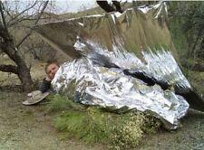 Waterproof Emergency Solar Blanket Survival Safety#Insulating Mylar Thermal Heat