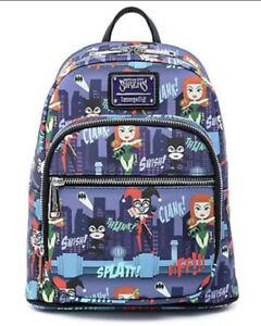 Loungefly X DC Comics Comics Gotham City Sirens Mini Backpack Ladies Of DC