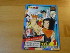 DRAGON BALL Z DBZ SUPER BATTLE PART 14 CARDDASS CARD REG CARTE 594 JAPAN 1995 **