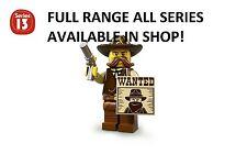 Lego minifigures sheriff series 13 (71008) unopened new factory sealed