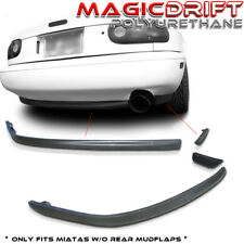 90-97 Miata R-Package Rear Bumper Lip Kits Spoiler Mazda MX5 NA PU R-Speed
