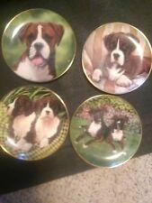 Danbury mint boxer plate set of 4
