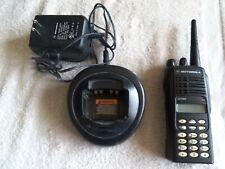 Motorola gp380 uhf walkie talkie radio