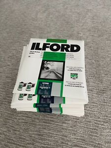 SEALED NIB | Ilford MBIV Multigrade IV RC de Luxe | PEARL | 25 sheets