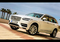 2014 VOLVO XC90 NEW A2 CANVAS GICLEE ART PRINT POSTER FRAMED