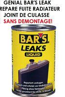 GENIAL! RARE BAR'S LEAK REPARE FUITE RADIATEUR JOINT DE CULASSE SANS DEMONTAGE!