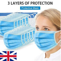 50pcs Face Mask Mouth Masks Cover Filter Respirator Air Pollution Protection FE