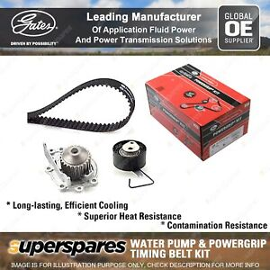 Gates Water Pump & Timing Belt Kit for Rover 214 216 25 414 416 45 75 Streetwise