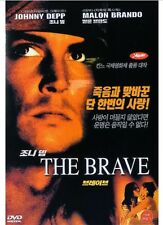 THE BRAVE (1997) DVD - Johnny Depp (NEW) / NO CASE (Only Cover & Disc)