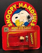 Aviva 1950s-1960s Snoopy Handfuls Snoopy in Red Race Car in Original Package