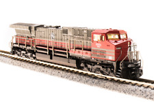 N-SCALE Broadway Limited 3749 GE AC6000, GECX #6001, Red & Gray Scheme
