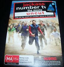 Jackass Number Two Uncut (Australia Region 4) DVD - New