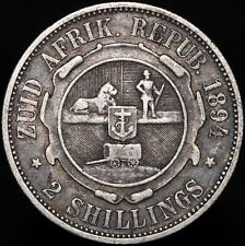 More details for 1894 | south africa 2 shillings | silver | coins | km coins