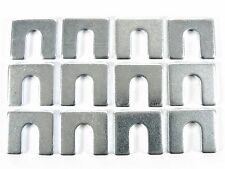"Ford Truck Body & Fender Alignment Shims- 1/8"" Thick- 3/8"" Slot- 12 shims- #399"