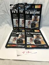 "Lot of 5 VANTAGE POINT TV Secure Adhesive Mounting Kit TVs 24""-48"""