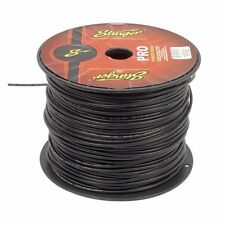 50 Foot Cut of Stinger Pro Series 12 Gauge Black Remote Turn On Primary Wire