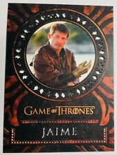 Game of Thrones Valyrian Steel LASER CUT Card L3 Jamie Lannister in Mint to gem