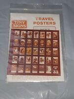 OO Gauge Tiny Signs Travel Posters Set 33 London and North East Railway Series