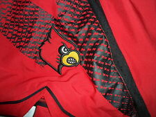 2012-13 Louisville Cardinals Adidas NCAA Champions Authentic Jersey Game Shorts