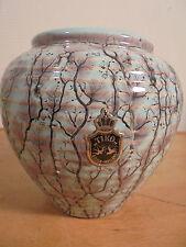 Céramique Vintage 50 Ravissant vase Pansu par Gouda Holland éra Vallauris