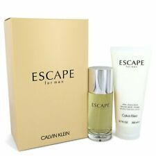 ESCAPE by Calvin Klein Gift Set -- 3.4 oz EDP Spray + 6.7oz After Shave Balm Men