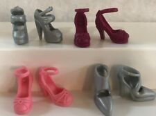 Barbie Skipper Stacie Doll Shoes High Heals Closed Toe Sandals Lot