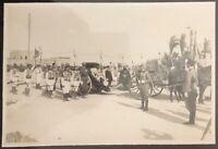 Tripolitania Libia Funerali del Magg. C. Brighenti med d'oro Valor Militare foto