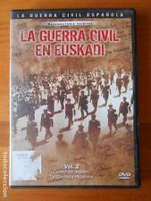 DVD LA GUERRA CIVIL EN EUSKADI VOL. 2 - LA GUERRA CIVIL ESPAÑOLA (T7)