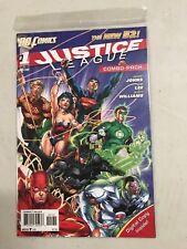 JUSTICE LEAGUE #1 COMBO PACK DC COMICS (2011) JIM LEE BATMAN WONDER WOMAN