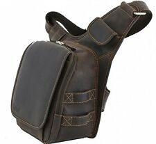 Kalahari Foto Rucksack Tasche Sling-Bag LEDER für Kamera Nikon Canon EOS, 440510
