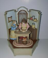 """New Listing1985 Enesco Animated Music Box """"Cooking Lessons"""" Vintage"""