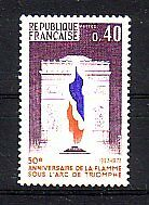 La France Michel numéro 1855 cachet