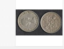 1964 GREAT BRITAIN QUEEN ELIZABETH II SIXPENCE IN CIRCULATED CONDITION