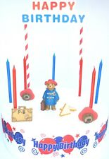 PADDINGTON Cake Decoration Set  - Cake Topper Figure Decoration Birthday