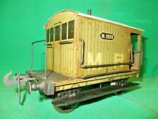 "CARETTE for BASSETT LOWKE Gauge 2 M.R. GOODS BRAKE VAN 1909 2"" Gauge"