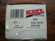 Kats 30501 Diesel Engine Block 120V / 600W  Frost Plug Heater